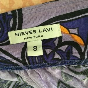 Nieves Lavi Dresses - Nieves Lavi silk jersey halter dress